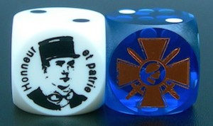 Battledice French 16mm