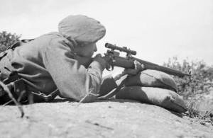 British Sniper Sized 10