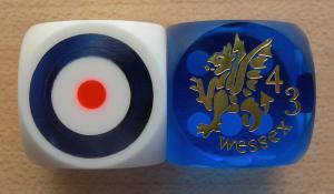 Battledice 43rd Wessex