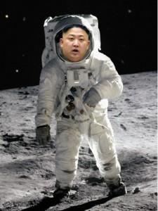 Kim on moon